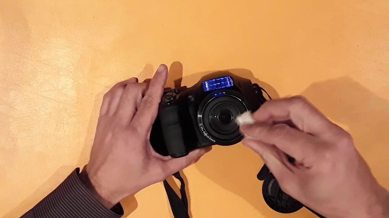 чем чистить объектив зеркального фотоаппарата случается