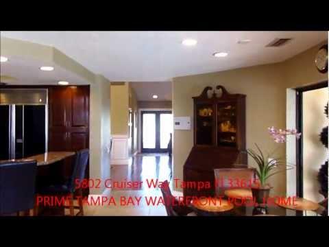 5802 Cruiser Way Tampa Fl 33615 Tampa Bay Bayside Waterfront Luxury Real Estate Video