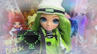 Rainbow High Winter Break Jade Hunter Doll Review! | Zombiexcorn