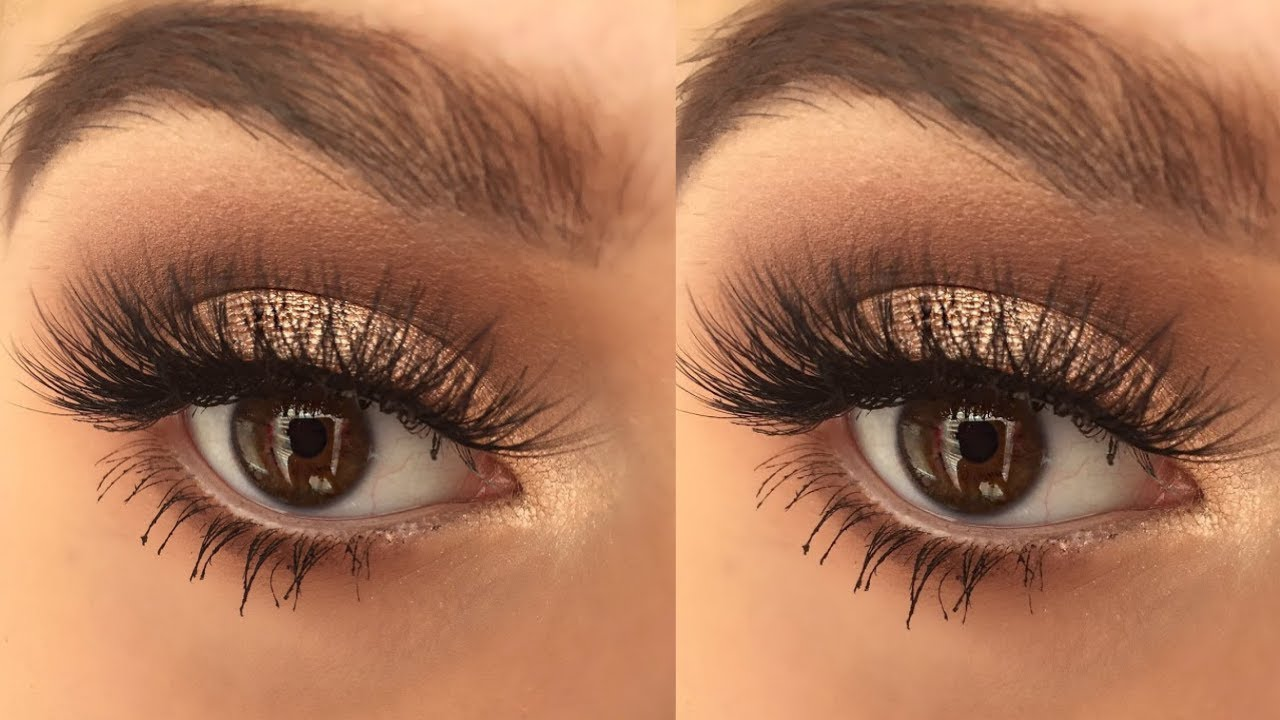 b9afcc705f3 Gold Summer Eye Makeup Tutorial - YouTube