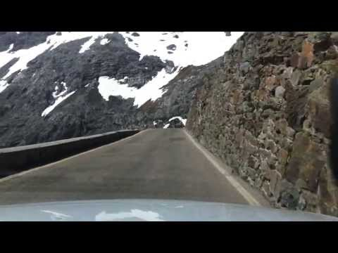 Audi RS5 on Stelvio Pass road SS38 2760m