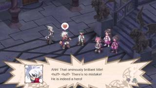[HD] [PS3] Disgaea 3: Absence of Justice - Chapter 1: The Legendary Hero