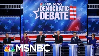 Democrats Hit Each Other Hard At Fiery Las Vegas Debate   The 11th Hour   MSNBC