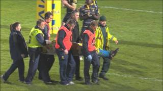 Worcester Warriors 16-7 Bath Rugby - Aviva Premiership Rugby Highlights Round 9 | 26-11-11