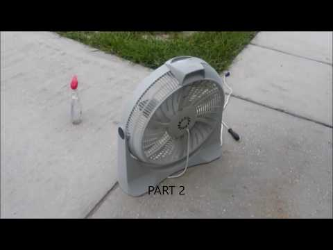 """Lasko 20"""" tunnel drive fan cleaning. Attention there are 4 different parts"""