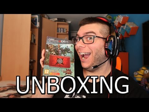 Unboxing | New 3DS XL Monster Hunter Generations y mi Colección de Nintendo 3DS