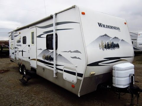 HaylettRV.com - 2008 Wilderness 280BHS Used Bunkhouse Travel Trailer by Fleetwood RV
