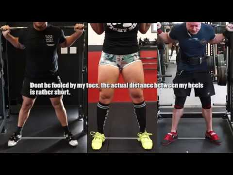 HOW TO SQUAT RIGHT FOR YOU (Stance/Foot Position/Elbows ...