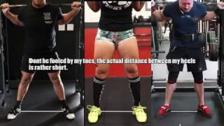 HOW TO SQUAT RIGHT FOR YOU (Stance/Foot Position/Elbows) Ft. Aesthetic Strength