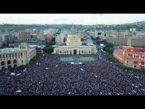 Yerevan 02.05.2018 ( Video by Mikayel Hovyan 4k )