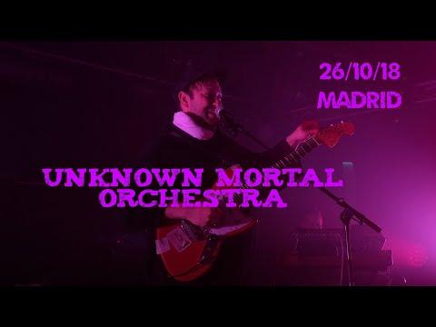 Unknown Mortal Orchestra - (Live) Sala Mon (Madrid) 26/10/18