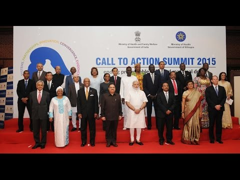 PM Modi inaugurates the Global Call to Action Summit 2015