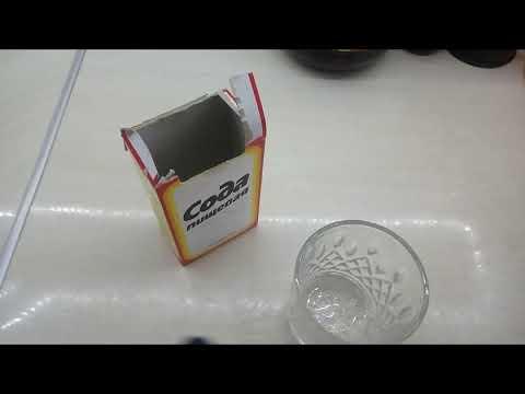 Как сделать раствор соды / Как полоскать горло содой !