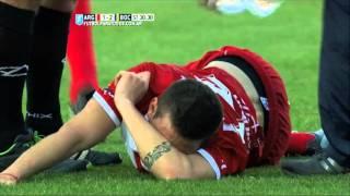Álvarez se guardó la roja. Argentinos 1 Boca 2. Fecha 25.Torneo Primera División 2015.FPT