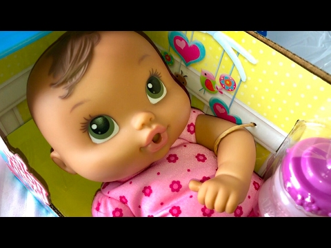 Brunette Baby Alive Luv N Snuggle Doll Unboxing Youtube