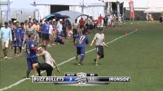 WUCC 2014 | Japan Buzz Bullets vs Boston Ironside (Pre-Quarter)