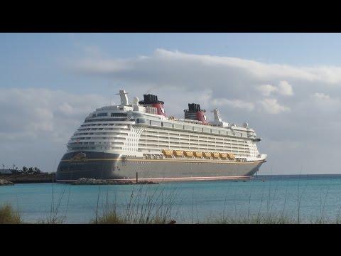 Disney Fantasy Cruise docking in Castaway Cay! (Feburary, 2016)