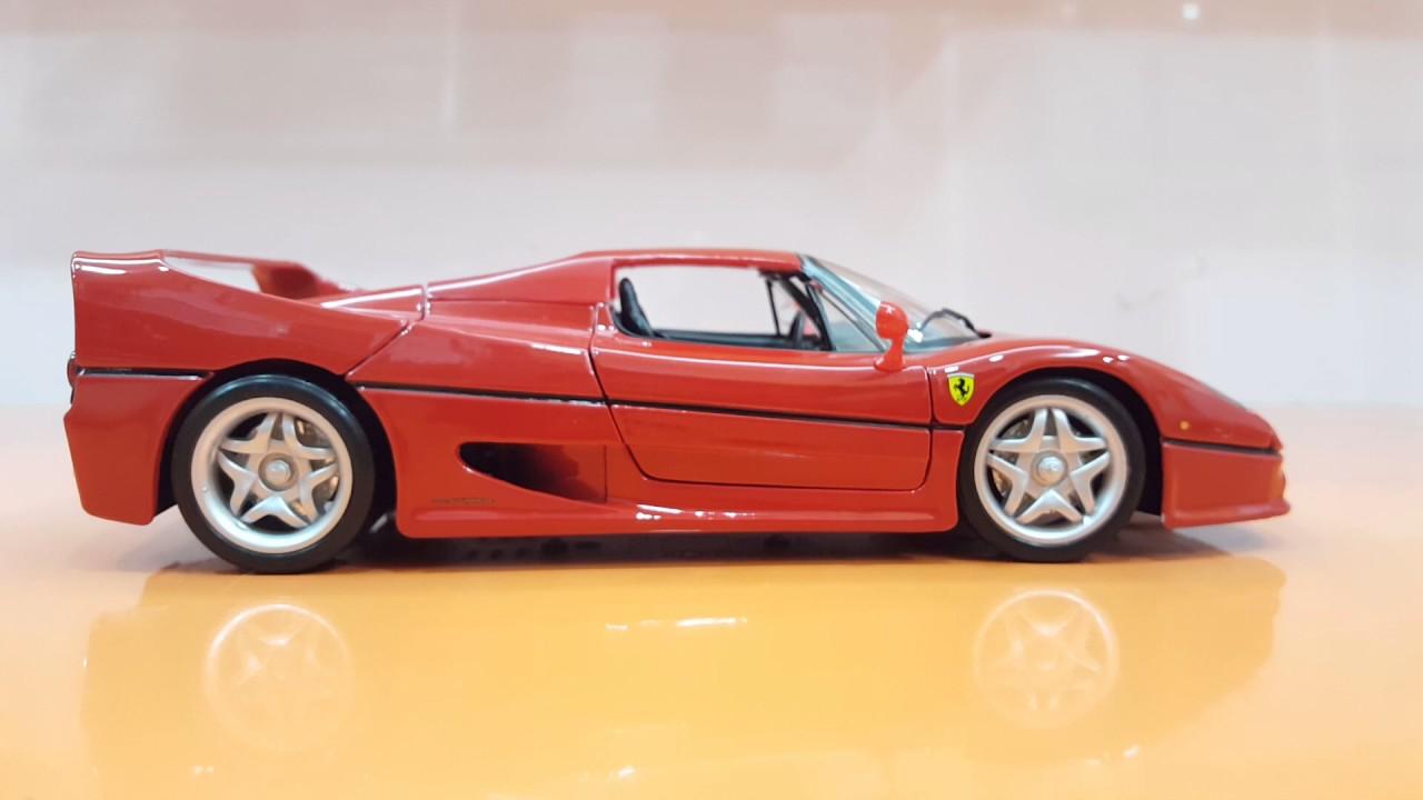 Bburago 1 18 Diecast Ferrari F50 Youtube
