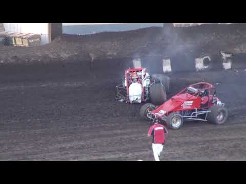 Perris Auto Speedway Crash May 27, 2017