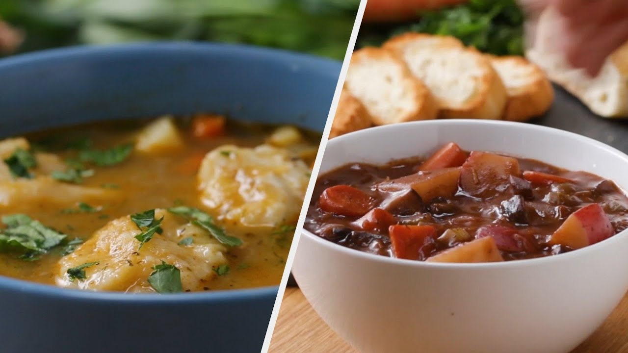 Warm & Rich Soup Recipes