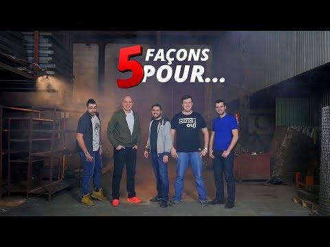 """La prochaine série """"5 façons pour"""""""
