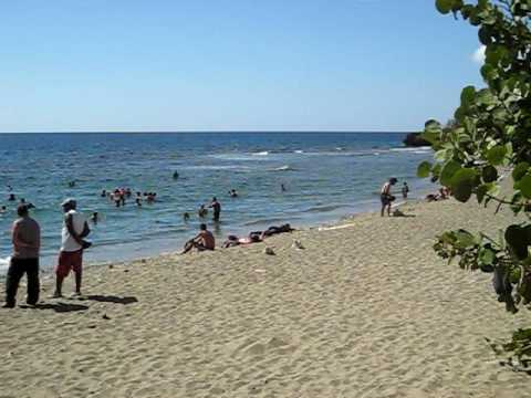 Playa Siboney Cuba  YouTube