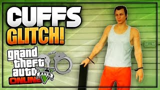 "GTA 5 Online - *NEW* ""HANDCUFFS GLITCH"" *Patch 1.36* (Obtain Rare Handcuffs In Freemode Online) PS4"