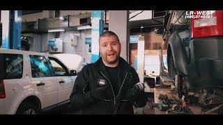 G'ichirlashi va rattle Ta'mirlash | orqa ishlab chiqarish Kashfiyot 3/4 va Range Rover Sport (qadar, 2013) | WEST LR