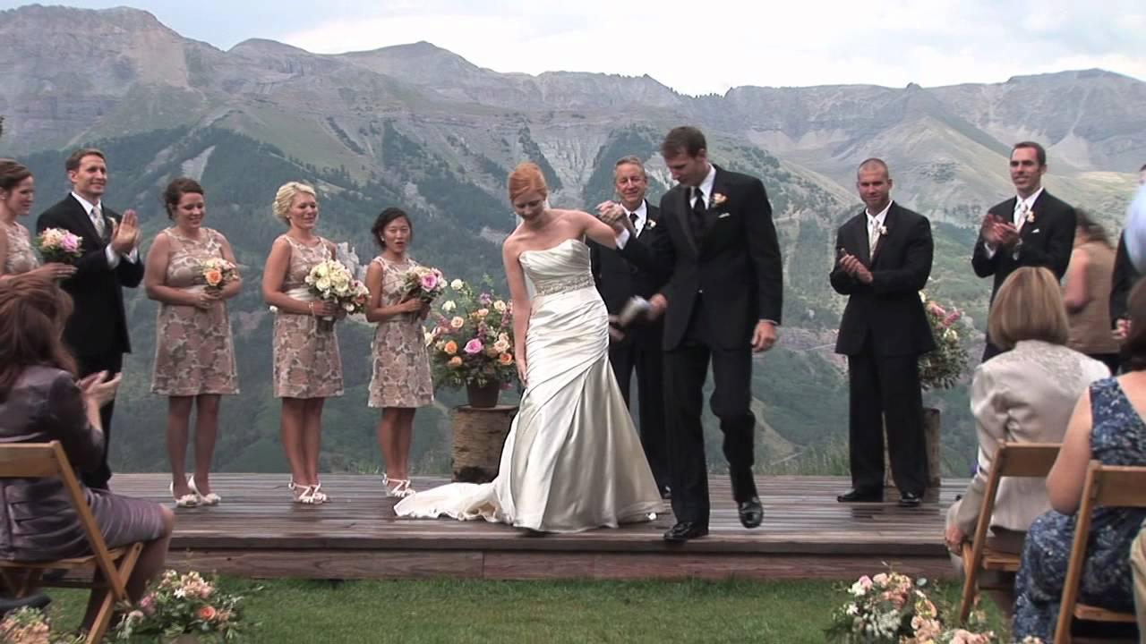 Telluride Colorado Wedding At San Sophia Overlook