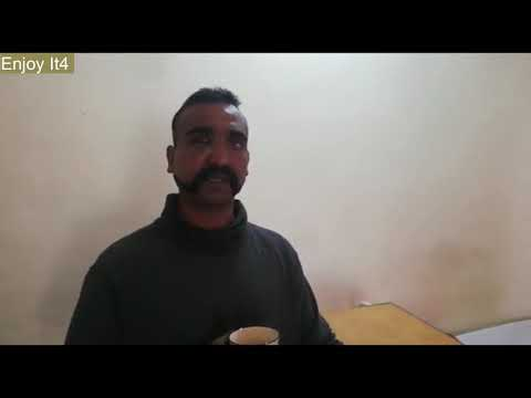 أول فيديو للطيار الهندي بعد إسقاط طائرته في باكستان, كفو والله يا باكستان