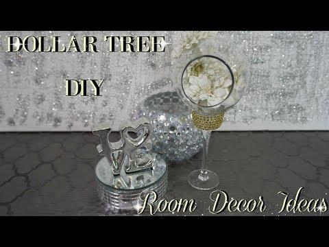 DIY HOME DECOR | DIY DOLLAR TREE GLAM ROOM DECOR IDEAS | PETALISBLESS