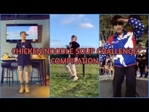 "BTS jhope (feat. Becky G) – ""Chicken Noodle Soup"" Dance Challenge Compilation"