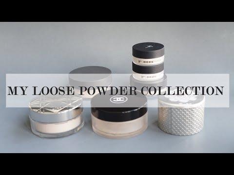เปิดกรุรีวิวแป้งฝุ่น 5 แบรนด์   Loose Powder Collection