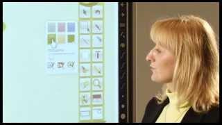 Интерактивная доска eno на уроке. Работа с WizTeach. Ч.2. Инструменты ''География''