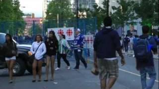 STANLEY CUP RIOTS IN FULL HD IN VANCOUVER BRITISH COLUMBIA
