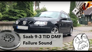 Saab 9-3 SC TID Dual Mass Flywheel Problems + How it Sounds