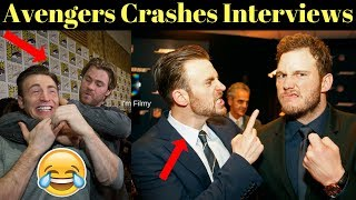 Download Avengers 4: Endgame Cast Crashes Interview - Unseen Funny Moments - 2017 Mp3 and Videos