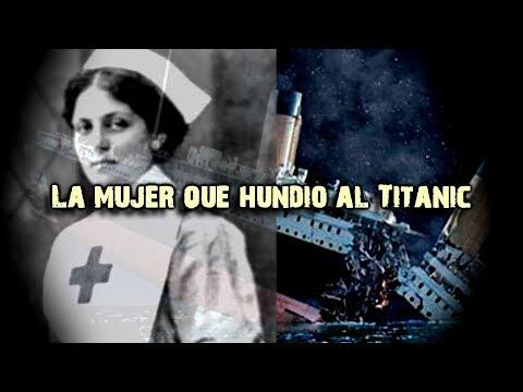 El aterrador secreto de la mujer detrás del hundimiento del Titanic
