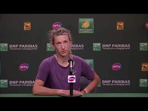 BNP Paribas Open 2018: Victoria Azarenka 2R Press Conference