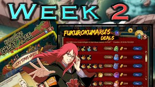 Karin's 60K Fuku Week 2 Events are Amazing! + Half a Spend (ft. Forgiveness) || Naruto Online
