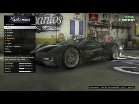 Buying new stuff from Finance and Felony – Grand Theft Auto 5