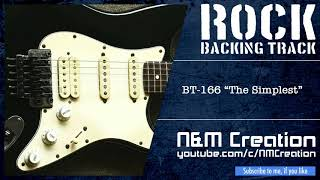 The Simplest Hard Rock Backing Track in Dm (Drop D / Whole Step Down Tuning)