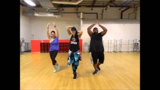 Zumba® Fitness With LO - *Naughty Girl Salsa Remix / Cool Down*