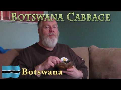 Worldly Treats with No Meats - Botswana - Botswana Cabbage