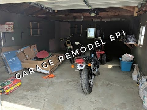 Garage Remodel EP1