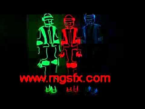 EL Wire dance suit / Neon light suit / Tron LED Costume supplier ...