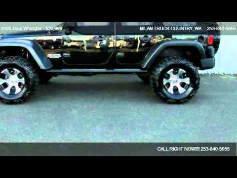 2008 Jeep Wrangler X - for sale in Puyallup, WA 98371 ...