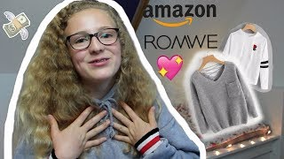 Baixar ROMWE & AMAZON Herbst/ Winter SHOPPING HAUL👛//Leonie4ever