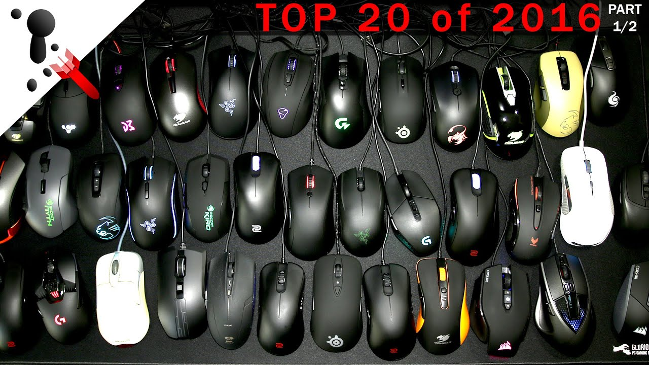 ef1dc32bda4 Top 20 Recommended Gaming Mice of 2016 by FPS Veteran - YouTube