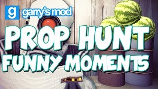 GMod - Prop Hunt Funny Moments